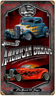 Click to find out more about American Dream Hot Rod Sign