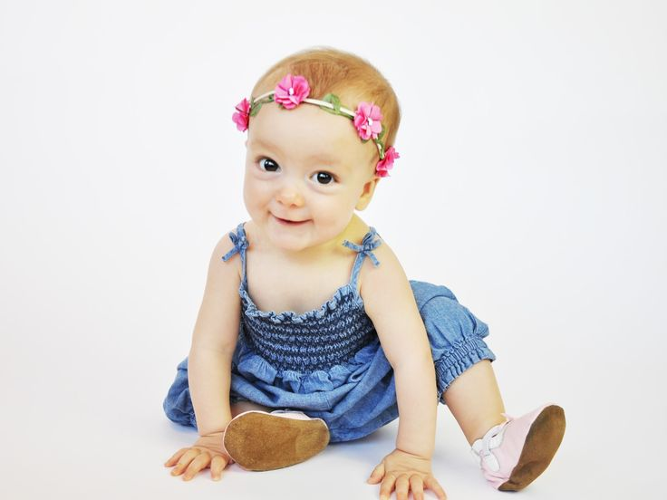 These pretty flower crowns can be worn on baby heads from 6 months all the way up to toddler, teen or even mommy heads.