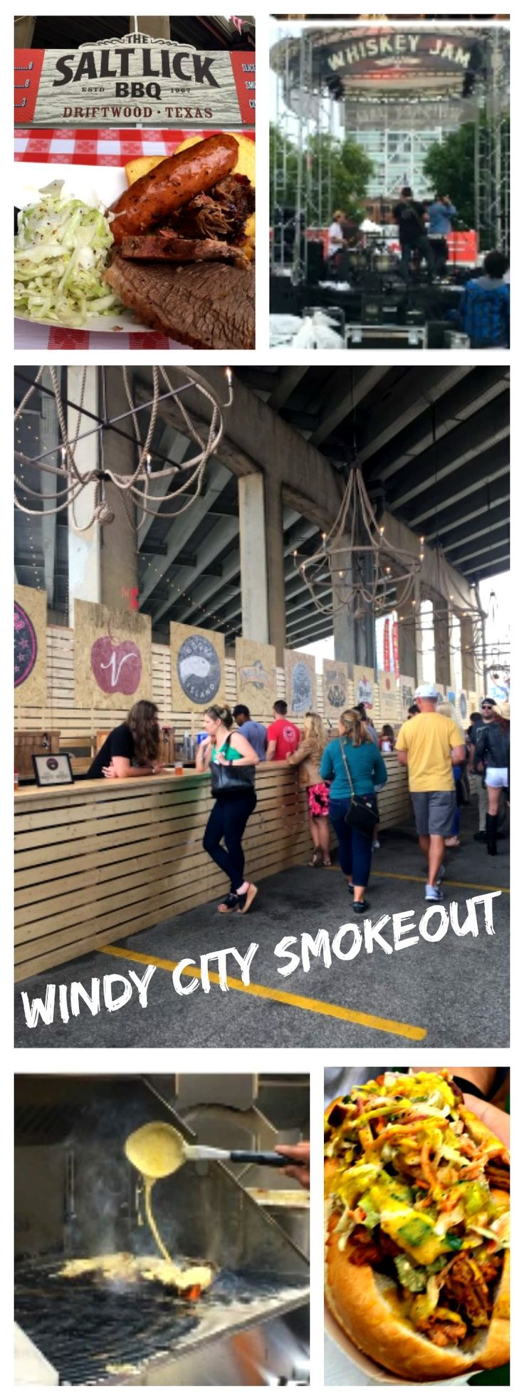 3 days, 21 Craft Beer options from all over the nation, 23 country music artists, 21 different stops serving the best BBQ in the country... why wouldn't you go to Windy City Smokeout Festival?!