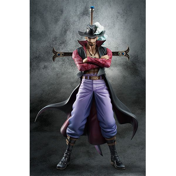 MEGAHOUSE 2017年12月發售: PVC Figure Portrait.Of.Pirates ONE PIECE NEO-DX 鷹眼 朱洛基爾·米霍克 Ver.2 (再販)11,000YEN | TAGhobby.com