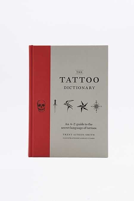 The Tattoo Dictionary Book