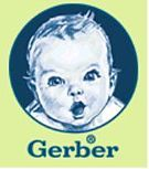 1928 - Gerber baby  - winning sketch from a contest for a baby face to represent their new baby food.