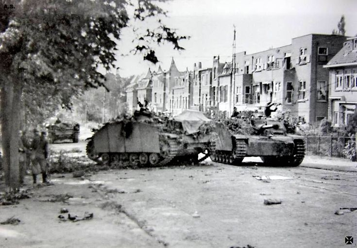 Kampfgruppe Möller during fighting in Arnhem 1944