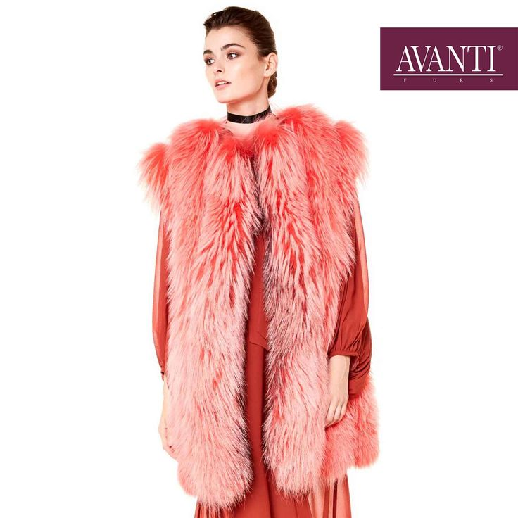AVANTI FURS - MODEL: BALBINA-ABELINE FOX VEST   #avantifurs #fur #fashion #fox #luxury #musthave #мех #шуба #стиль #норка #зима #красота #мода #topfurexperts