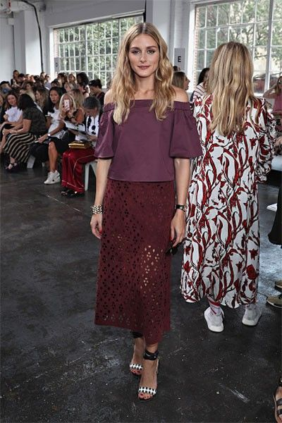 Olivia Palermo en el Fashion Week de Nueva York