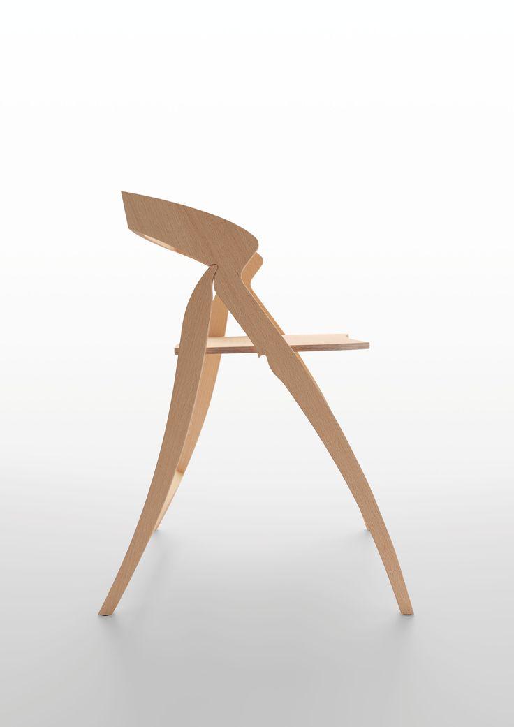 Paso Doble design chair by Enrico Davide Bona