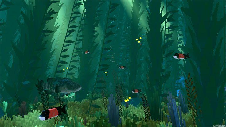 『風ノ旅ビト』元スタッフのPS4『Abzû』幻想的で超美麗な1080pスクリーンショットが公開! : ゲームかなー