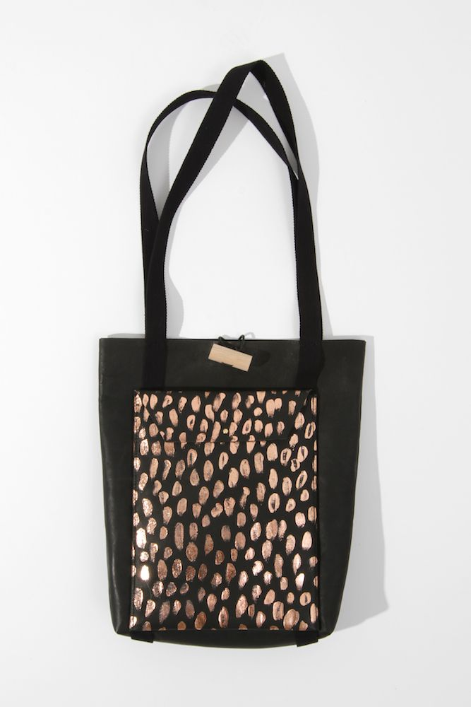 Dagmar X Mr. Kitly pop up shop limited edition tote by Georgie Cummings
