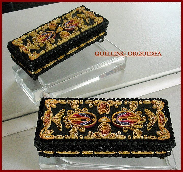 62 best images about quilling boxes box decor on pinterest for Decor 720 container