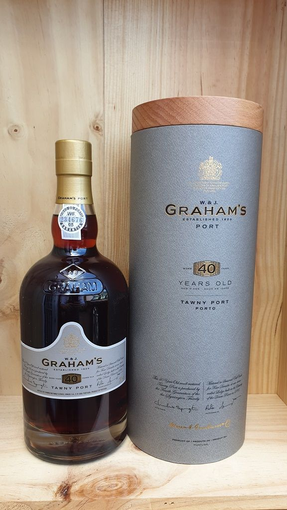 Grahams 40 Year Old Tawny Port Fareham Wine Cellar 40 Years Old 40 Years Port Wine