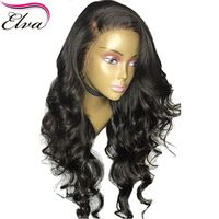 Elva Hair Brazilian Lace Front Human Hair Wigs With Baby Hair Loose Wave Remy Hair Glueless Lace Front Wig Pre Plucked Hairline