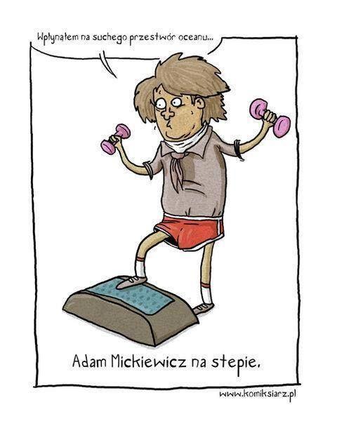 Adam Mickiewicz na stepie :D