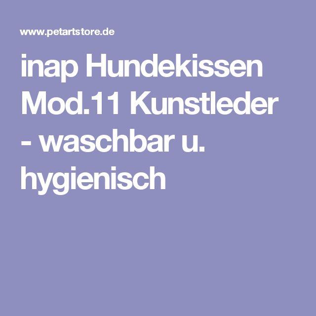 inap Hundekissen Mod.11 Kunstleder - waschbar u. hygienisch