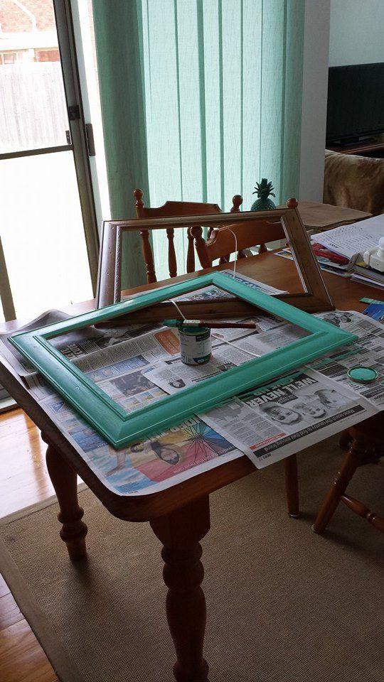 "Making a ""polariod"" photo frame 3 of 6"