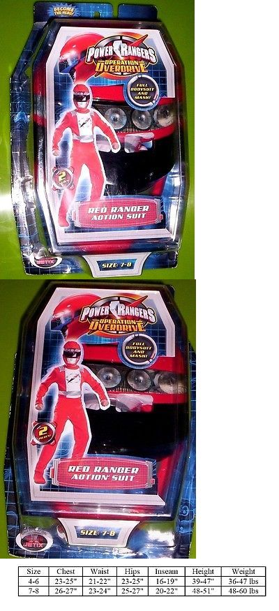 Kids Costumes: Power Rangers Operation Overdrive Red Ranger Costume + Mask 4/6 New In Package -> BUY IT NOW ONLY: $32.99 on eBay!