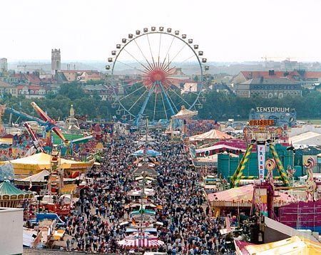 Dear Oktoberfest, I had no idea there was a ferris wheel involved. I can't wait for September.