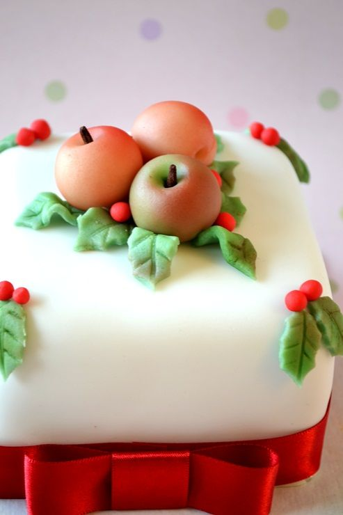 Christmas Cake Decorating Step By Step : 93 best images about Modelage - Fruits - legumes on ...