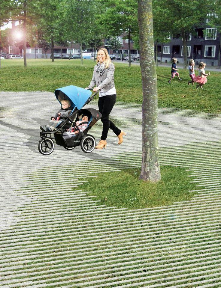 Het Natuurlijk Evenwicht Tussen Verharding Groen En Omgeving Wint Aan Belang H Garten Landschaftsbau Landschaftsbau Englischer Garten