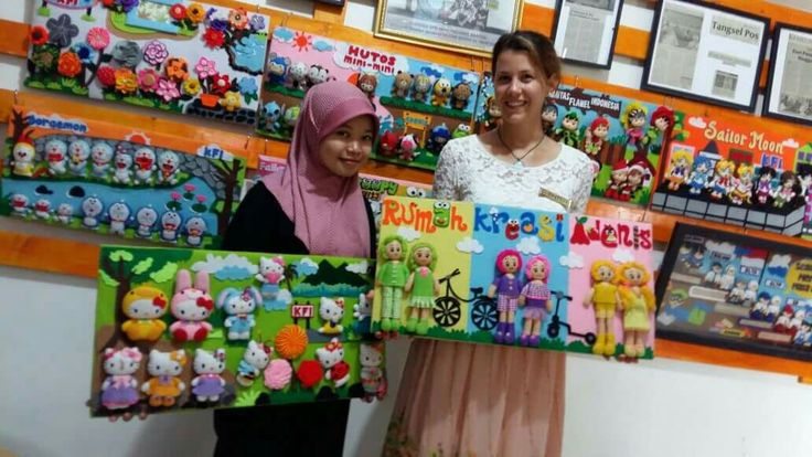 Mrs.Angela at adenis home industry flanel