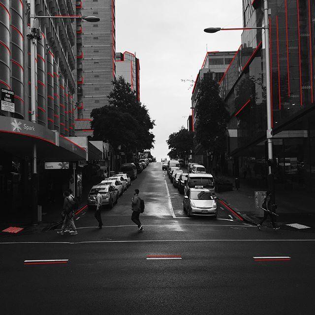 City life. #aucklandcity #town #streetlife #auckland #queenstreet