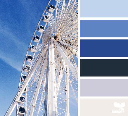 Sky High Hues - http://design-seeds.com/home/entry/sky-high-hues