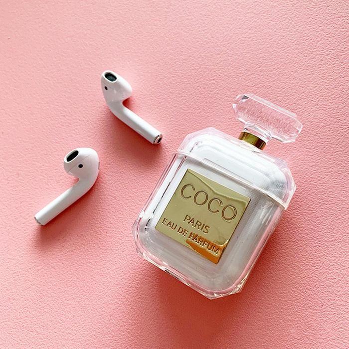Coco Perfume Airpods Case Unique Desigh Full Protection Easy