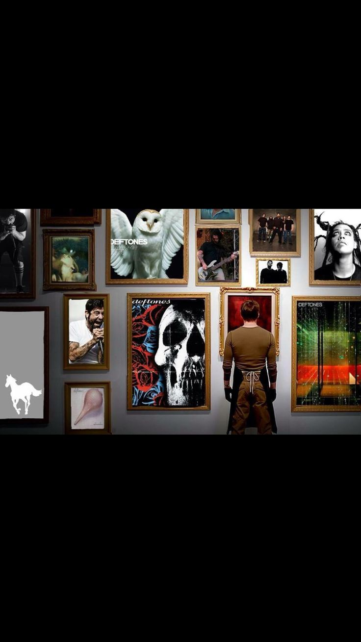 I need a wall like this Deftones Love