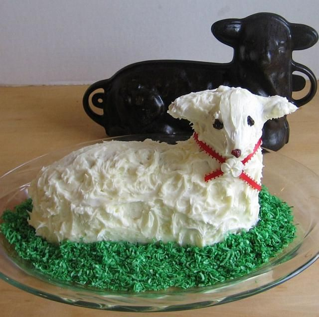 Indulge in These 8 Popular Polish Easter Desserts: Easter Lamb Cake Recipe