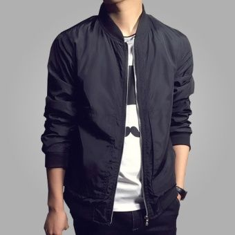 Buy Mens Padded Bomber Jacket Slim Coat Zipper Outwear (Black) online at Lazada. Discount prices and promotional sale on all. Free Shipping.