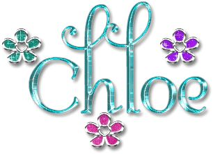 Chloe name graphics