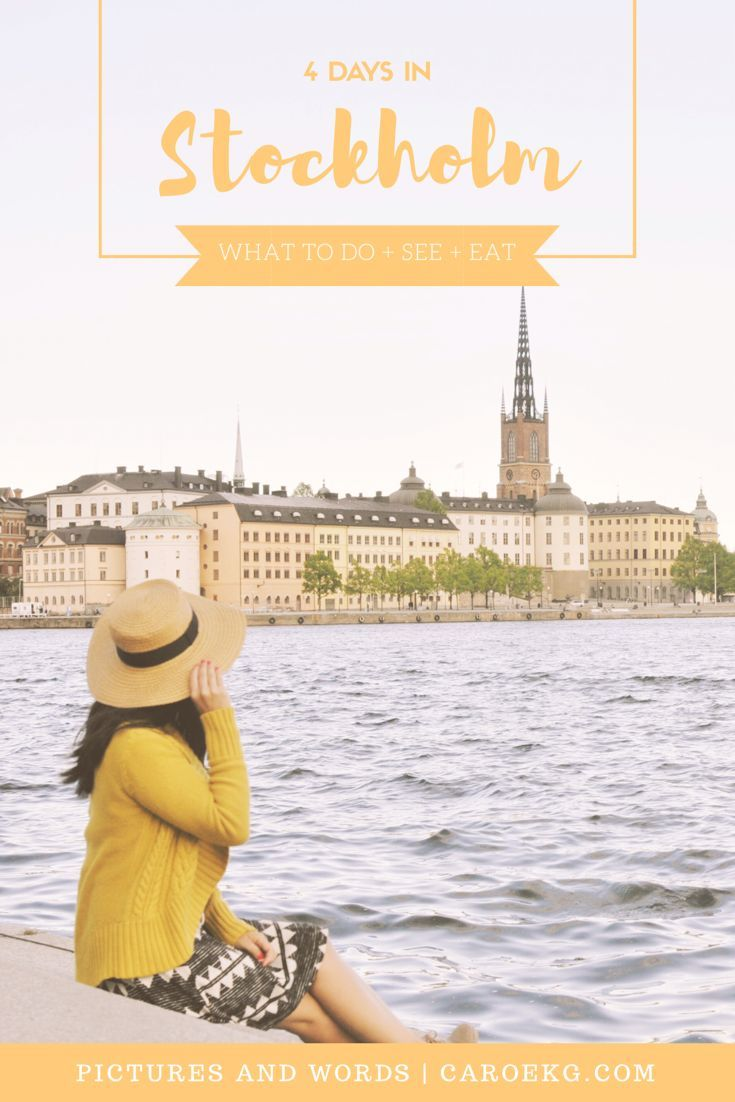 4 Days in Stockholm: the ultimate guide to all the things you must do, see, and eat for a perfect trip to Stockholm. Stockholm Travel Guide, Stockholm City Guide, Stockholm must-dos, Things to do in Stockholm, Stockholm activities, Sweden Travel