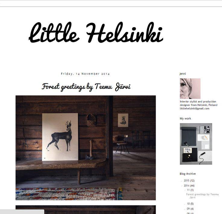 Forest Greetings blog post by Little Helsinki