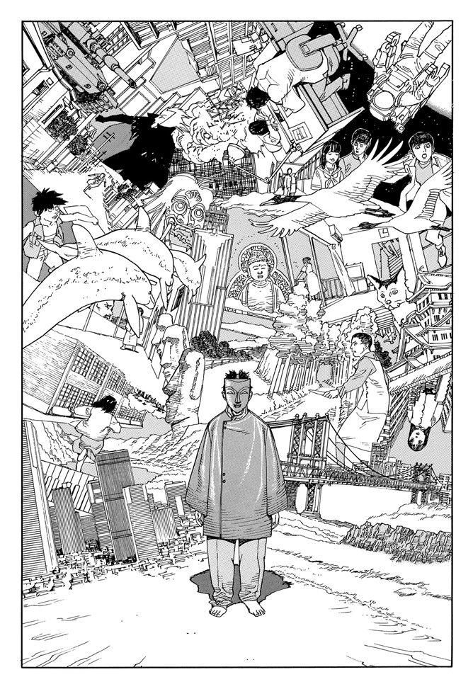 comic panel from 'Opus' by Satoshi Kon (1995-1996)
