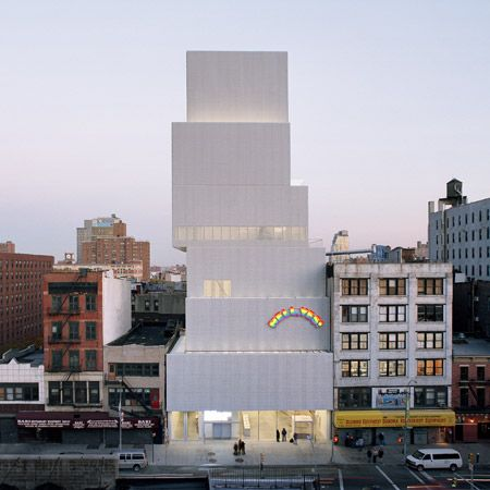 /New Museum by SANAA in New York.