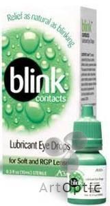 Глазные капли Blink Contacts : Интернет магазин ArtOptic.ru