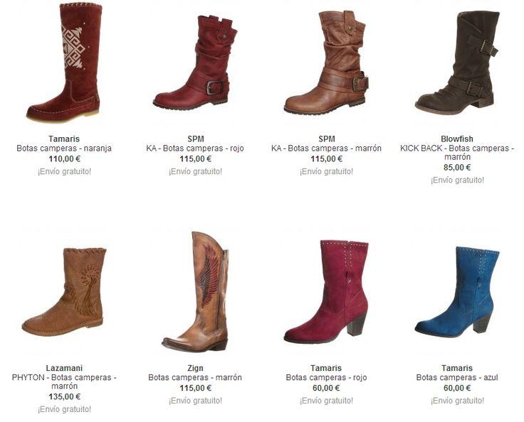 3175ac1df5 botas de mujer camperas marrones