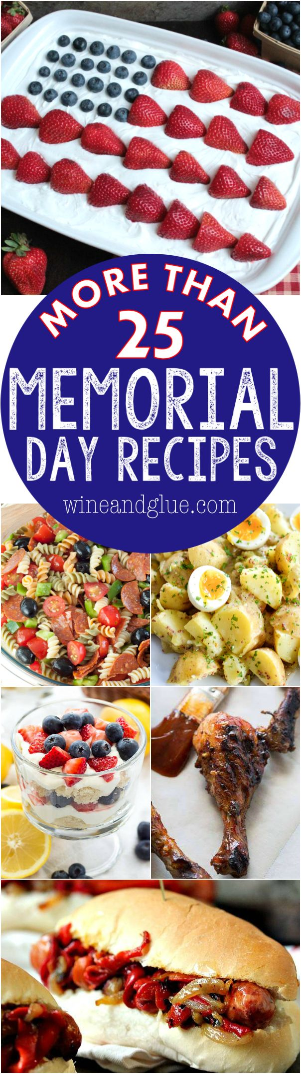More than 25 Memorial Day Recipes to start your summer off right!