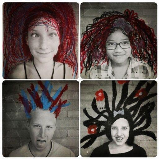 Creatieve foto's om een klassenkalender mee te maken!