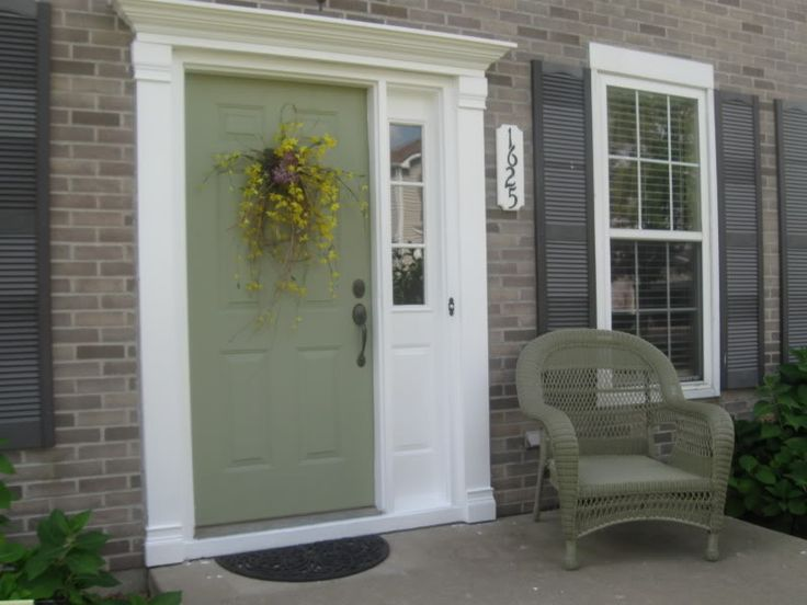 Good Traditional Green Front Door With Tags Front Door Ideas Choosing Exterior  Paint Colors House Front Doors Traditional Exterior