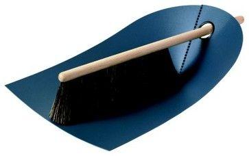 Dustpan & Broom by Normann Copenhagen modern mops brooms and dustpans