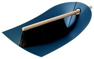 Dustpan & Broom by Normann Copenhagen modern mops brooms and dustpans