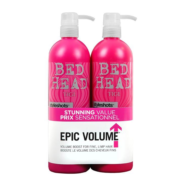 TIGI Bed Head Styleshots Epic Volume Tween Shampoo & Conditioner Duo 2 x 750ml - feelunique.com