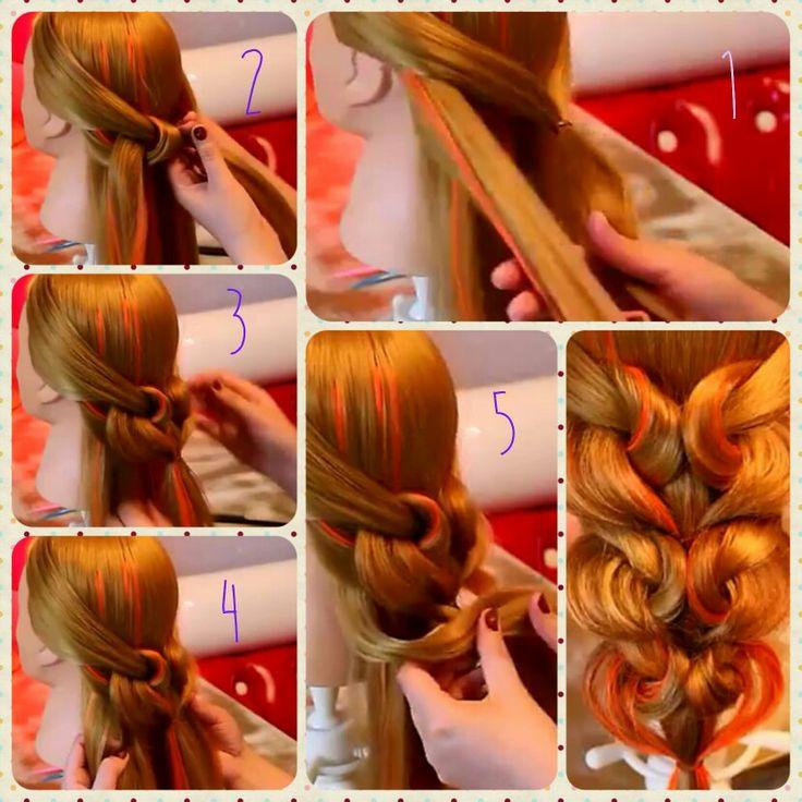 Peinado para quinceañeras  MUY FACIL