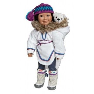 Amazing Amauti: This item has been made in Nunavut according to traditional design. In her journal pages Saila tells you all about the traditions of her amazing amauti.