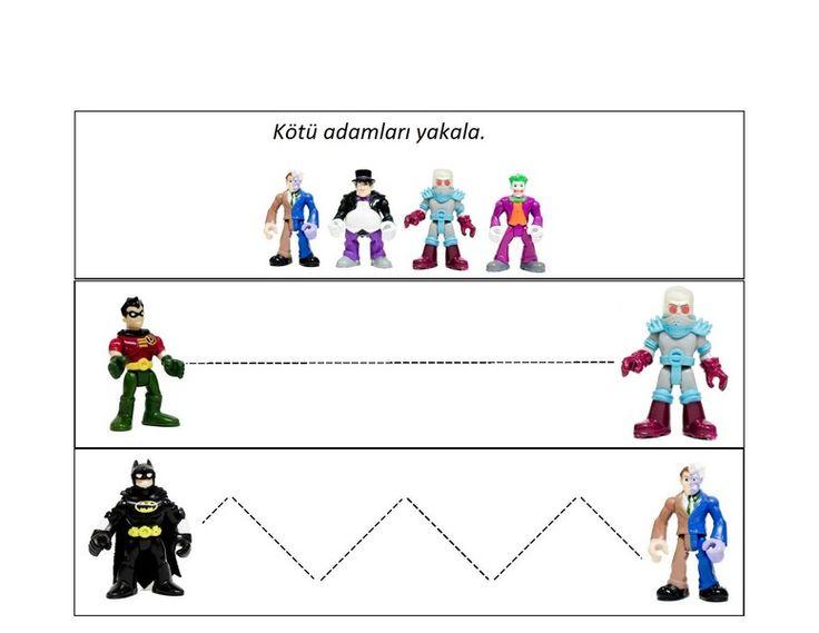 Bu sayfamızda batman animasyon filmi etkinlikleri bulunmaktadır.Çocukların ilgiyle takip ettikleri süper kahraman batman filmi etkinlikleriyle bizleri eğlendirecek. Okul öncesi film etkinlikleri Batman filmi çizgi çalışmaları Batman filmi örüntü çalışması Batman filmi boyut çalışması Batman filmi sayı kartları Batman filmi kahramanları Batman filmi kötü adamlar etkinliği Batman filmi kendi kahramanımı çiziyorum Batman filmi boyama çalışması Batman filmi renk eşleştirmeleri gibi etkinlikler…
