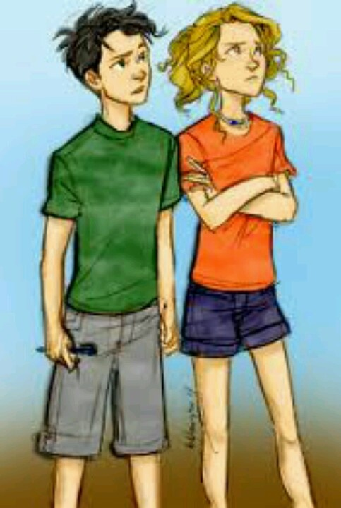 young annabeth and percy