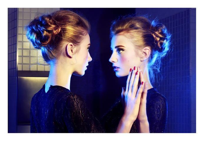 model: Diana Kratochvílová/ Czechoslovak models hair: Dominika Reslerová-Bomton makeup: Tomáš Moučka