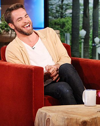 Chris Pine:Isn't he a cutie! I think I'm a Pine Nut... :] Probably the only reason I'd admit to remotely being a Trekie...