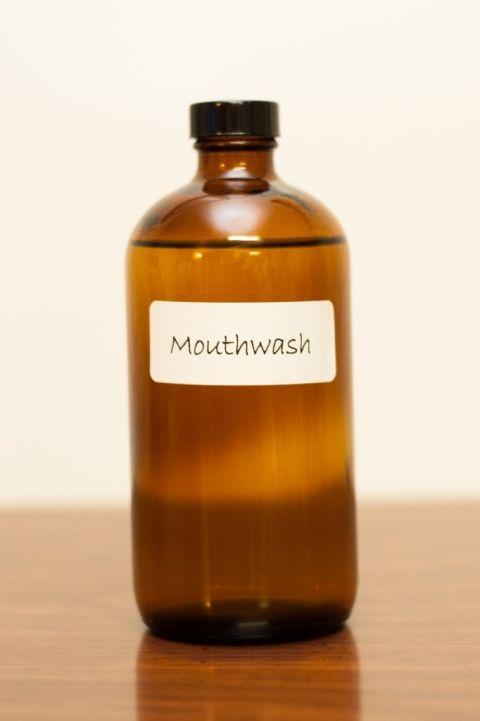 how to make homemade turmeric mouthwash