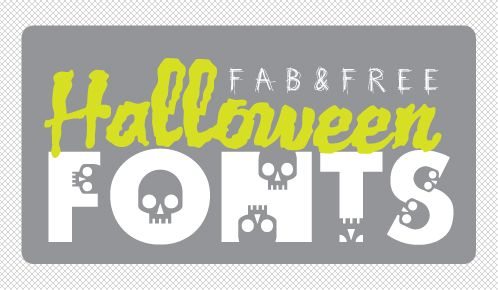 32 Free Halloween Fonts for Crafts